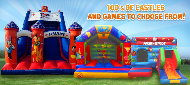 Hundreds of Castles and Games to Choose From!