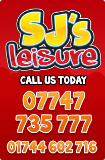 SJ Leisure - Bouncy Castle Hire St Helens - Call us on 01744 602716