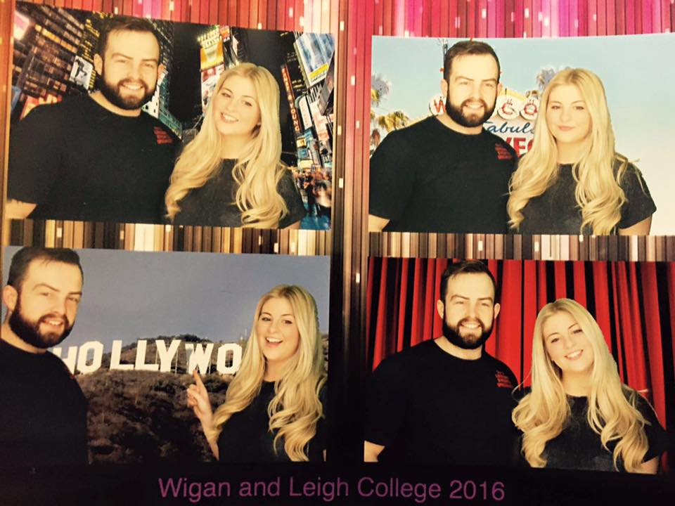 Photobooth hire in Wigan, Widnes, Leigh, Warrington, St Helens and more!
