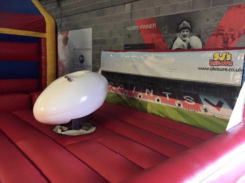 rodeo rugby ball hire in St Helens